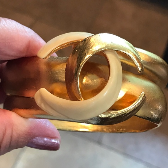 CHANEL Jewelry - Chanel bangle bracelet from 2000 collection.